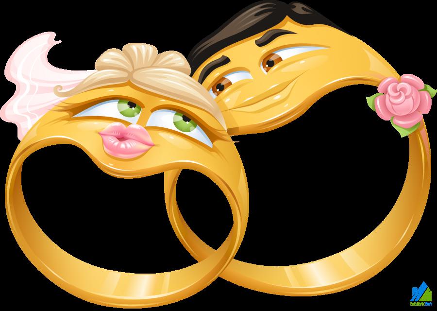Прикольные картинки со свадебными кольцами